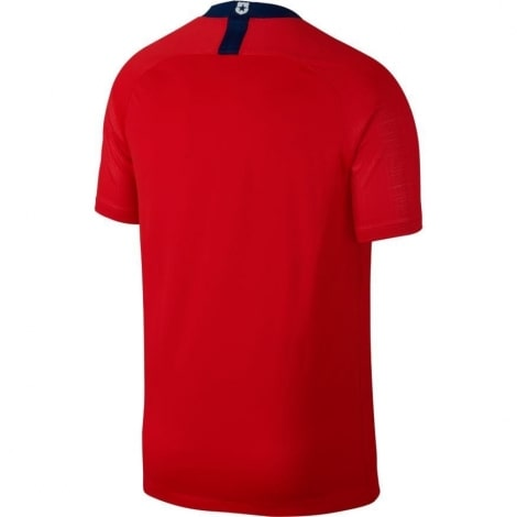 Домашняя футболка сборной Чили сезона 2018-2019 сзади