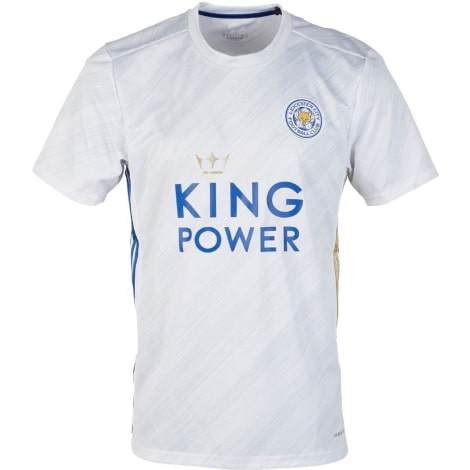 Комплект взрослой гостевой формы Лестер Сити 2020-2021 футболка