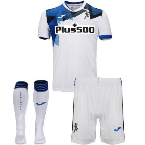 Комплект взрослой гостевой формы Аталанта 2020-2021 футболка шорыт и гетры