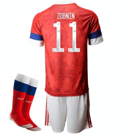 Детская домашняя форма России Зобнин на ЕВРО 2020