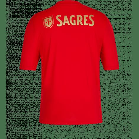 Домашняя игровая футболка Бенфика 2020-2021 сзади