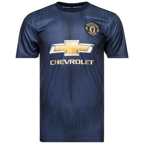 Третья игровая футболка Манчестер Юнайтед 2018-2019