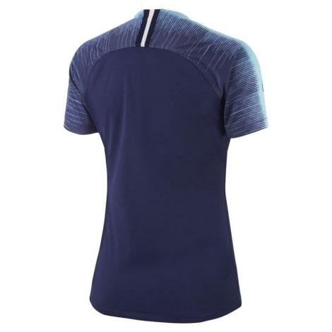 Женская гостевая футболка Тоттенхэма 2018-2019 темно синяя сзади