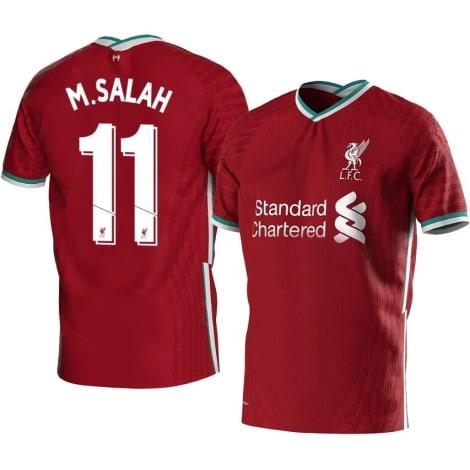 Детская домашняя футбольная форма Салах 2020-2021 футболка