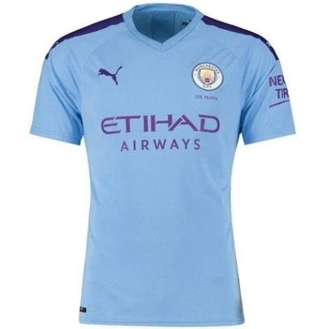 Домашняя игровая футболка Манчестер Сити 2019-2020