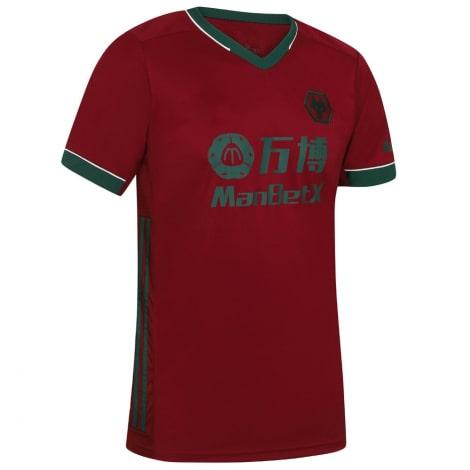 Третья игровая футболка Вулверхэмптона 20-21