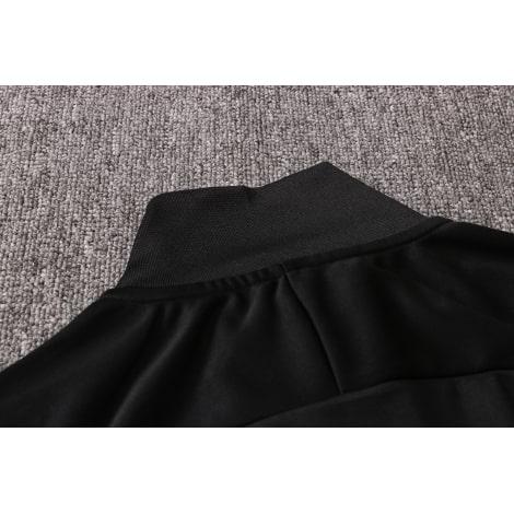 Черно-бело-мятный костюм Ливерпуля 2021-2022 воротник сзади