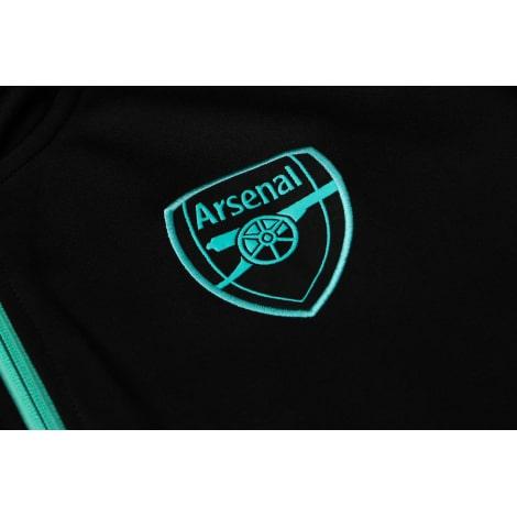 Черный спортивный костюм Арсенал 2021-2022 герб клуба