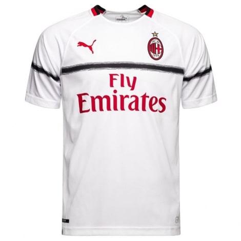 Детская гостевая футболка формы Милана 2018-2019