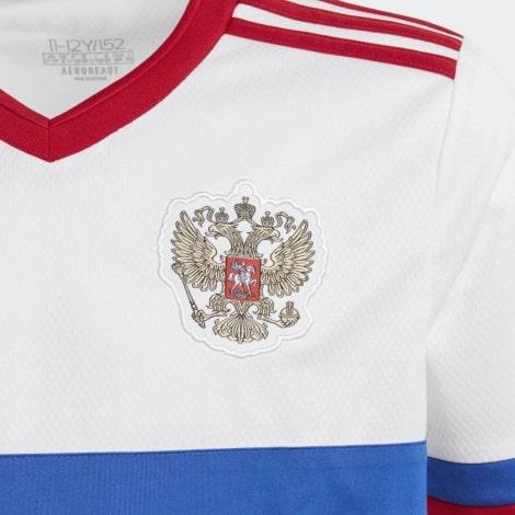 Домашняя игровая футболка сбороной России 2017 сзади