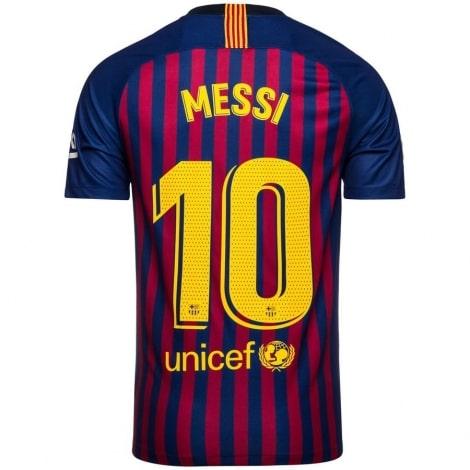Детская домашняя футболка Месси 2018-2019