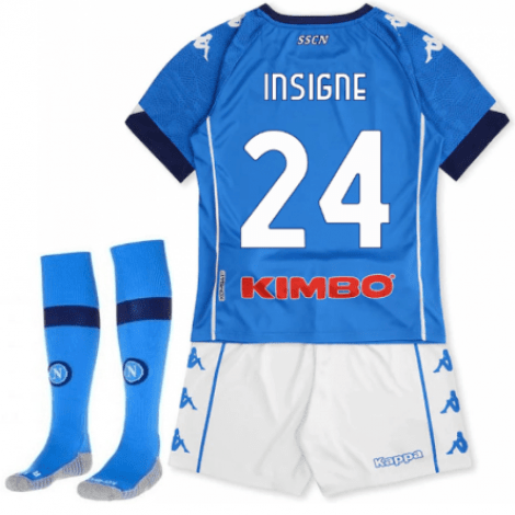 Детская домашняя футбольная форма Инсинье 2020-2021