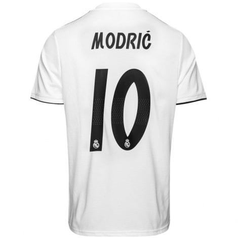 Домашняя футболка Реал Мадрид 2018-2019 Лука Модрич номер 10