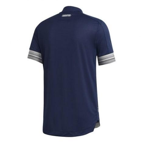 Гостевая аутентичная футболка Ювентуса 2020-2021 сзади
