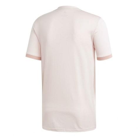 Гостевая игровая футболка Манчестер Юнайтед 2018-2019 сзади