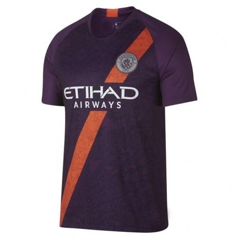 Третья игровая футболка Манчестер Сити 2018-2019
