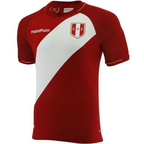 Гостевая футболка сборной Перу 2020-2021