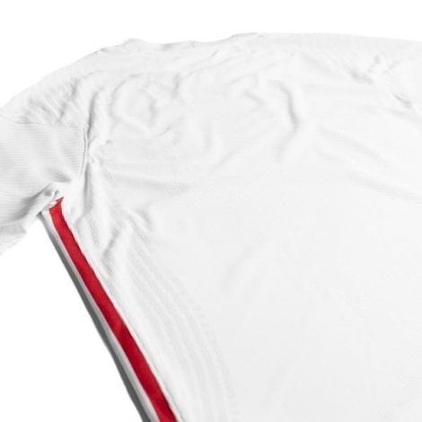 Гостевая аутентичная футболка Франции на ЕВРО 2020-21 сзади