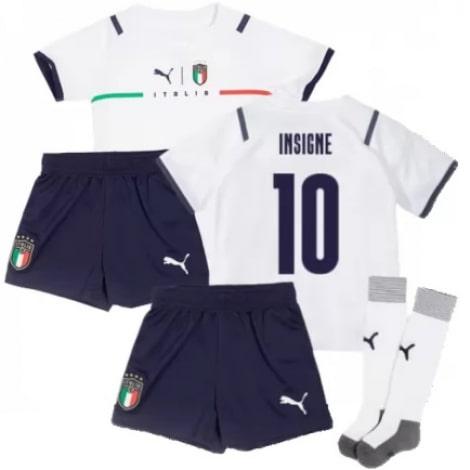 Детская четвертая форма Италии Инсинье ЕВРО 2020-21
