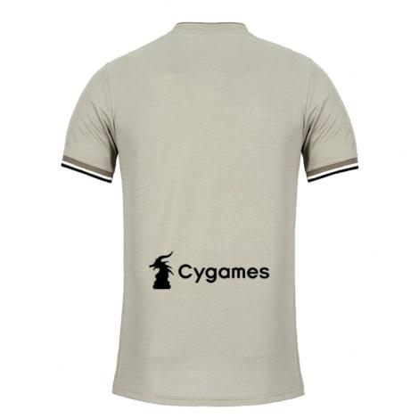 Деьская футболка гостевая Ювентуса 2018-2019 сзади