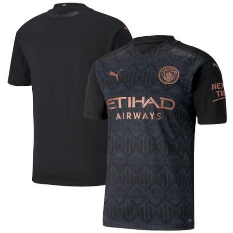 Гостевая аутентичная футболка Манчестер Сити 2020-2021