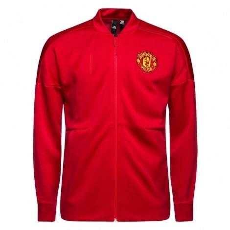 Взрослый красно-черный костюм Манчестер Юнайтед 2018-2019 кофта