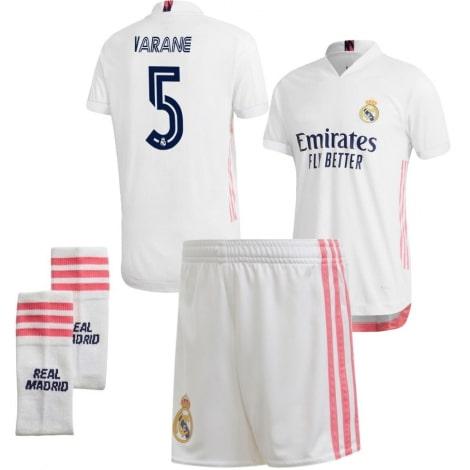 Детская домашняя футбольная форма Рафаэль Варан 2020-2021 футболка шорты и гетры