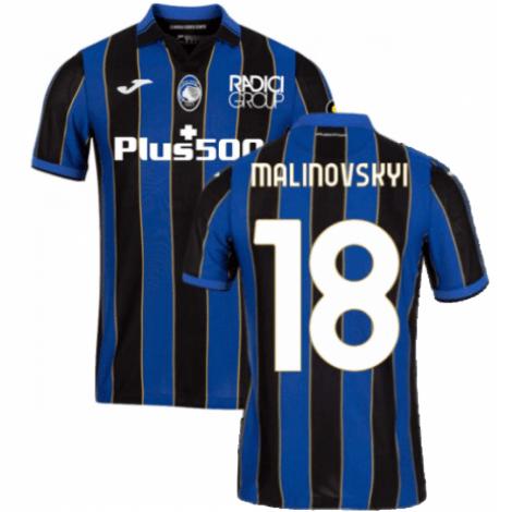 Домашняя футболка Аталанта 2021-2022 Малиновский