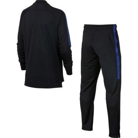 Взрослый черный костюм Интера 18-19 сзади