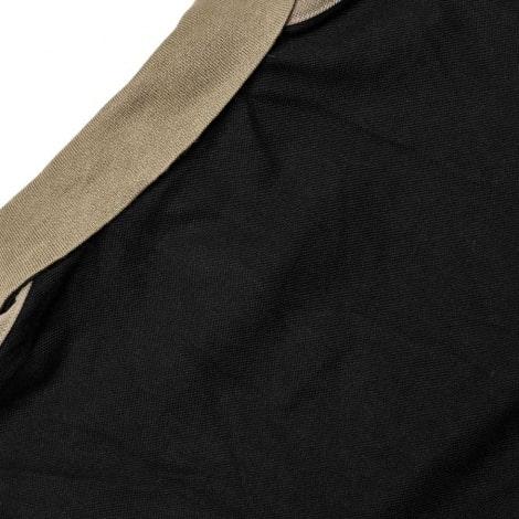 Черная футболка поло Ювентуса 2018-2019 сзади