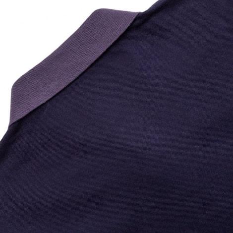 Фиолетовая футболка поло Ювентуса 2018-2019 сзади