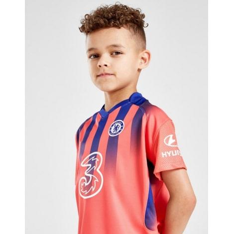 Комплект детской третьей формы Челси Тимо Вернер 2020-2021 футболка
