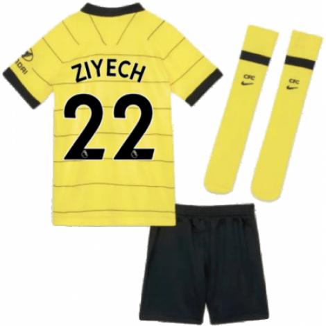 Детская гостевая форма Челси Хаким Зиеш 2021-2022