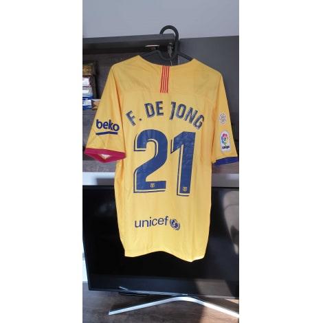 Гостевая игровая футболка Барселоны 2019-2020 Де Йонг 21