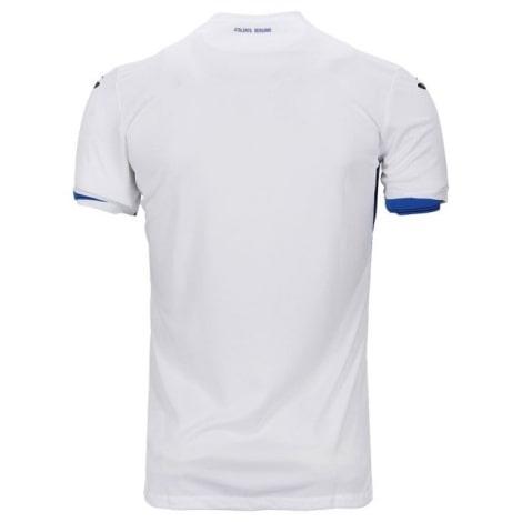 Комплект взрослой гостевой формы Аталанта 2020-2021 футболка сзади