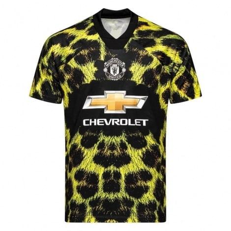 Детская леопардовая форма EA Ман Юнайтед 2018-2019 футболка