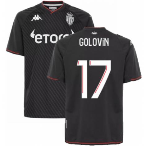 Гостевая футболка Монако 2021-2022 Головин