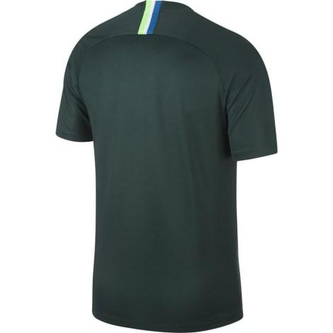 Домашняя игровая футболка Вольфсбурга 2018-2019 сзади