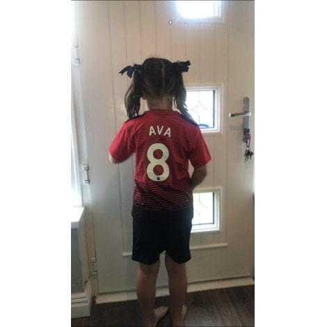 Детская домашняя форма Манчестер Юнайтед 2018-2019