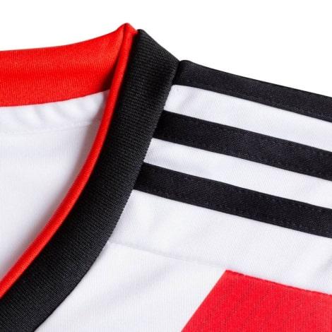 Домашняя игровая футболка Ривер Плейт 2018-2019 воротник