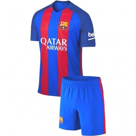 Комплект взрослой гостевой формы Барселоны 2019-2020 футболка