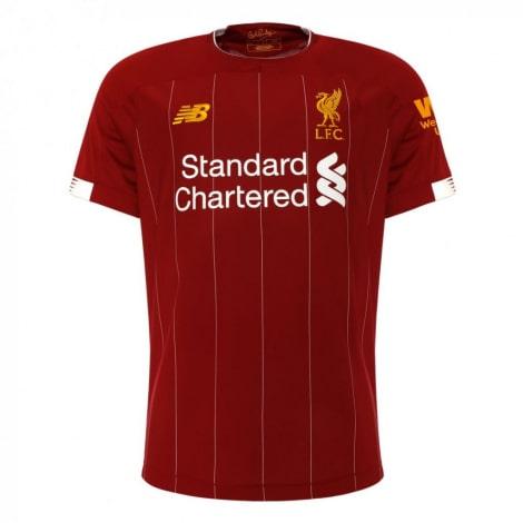 Комплект взрослой домашней формы Ливерпуля 2019-2020 футболка