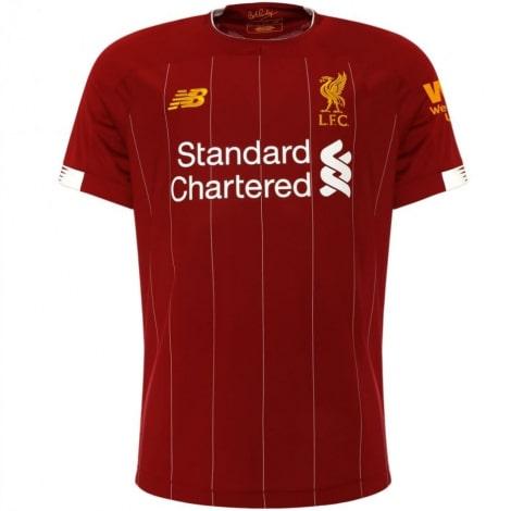 Комплект детской домашней формы Ливерпуля 2019-2020 футболка