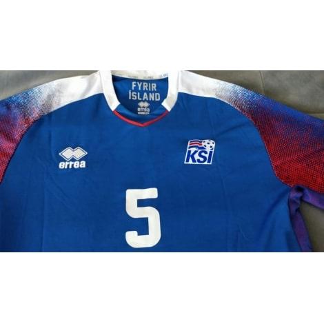 Домашняя футболка сборной Исландии на чемпионат мира 2018