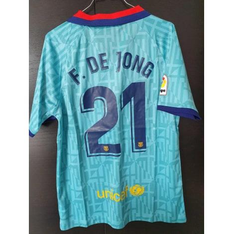 Третья футболка Барселоны 2019-2020 Фрэнки Де Йонг сзади