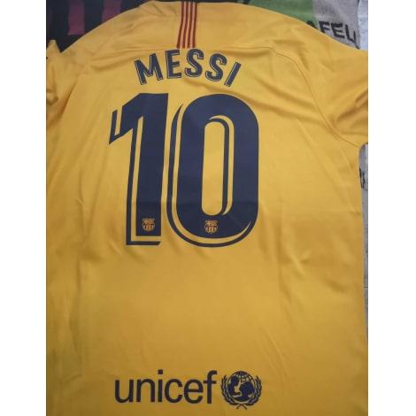 Гостевая футболка Барселоны 2019-2020 Лионель Месси сзади