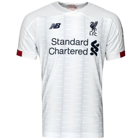 Комплект детской гостевой формы Ливерпуля 2019-2020 футболка