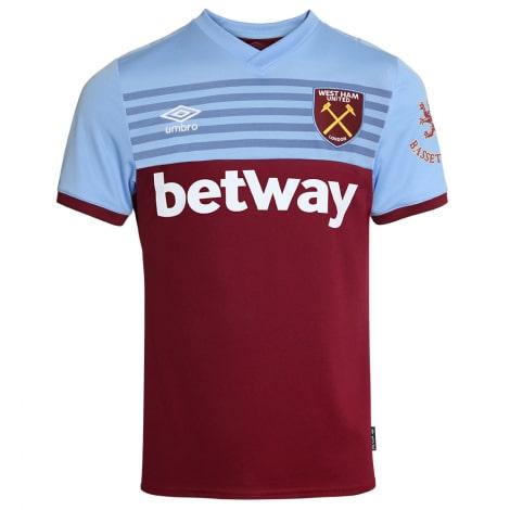 Комплект детской домашней формы Вест Хэм 2019-2020 футболка