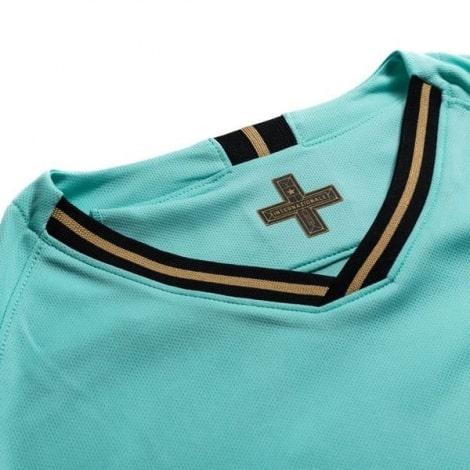 Комплект взрослой гостевой формы Интер 2019-2020 футболка воротник