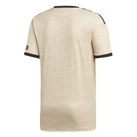 Комплект взрослой гостевой формы Манчестер Юнайтед 2019-2020 футболка сзади